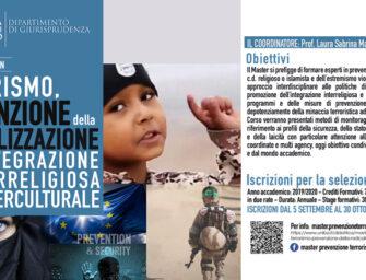 A Bari il Master di II livello in terrorismo, prevenzione della radicalizzazione e integrazione interreligiosa e interculturale