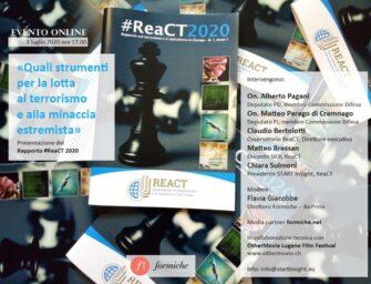 Come combattere (e prevenire) il terrorismo. La presentazione dell'Osservatorio ReaCT